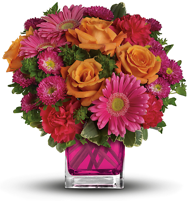 Teleflora\'s Turn Up The Pink Bouquet
