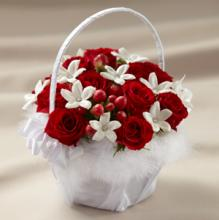 The Baby Love Flower Girl Basket
