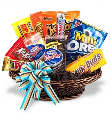 Dad\'s Snack/Junk Basket